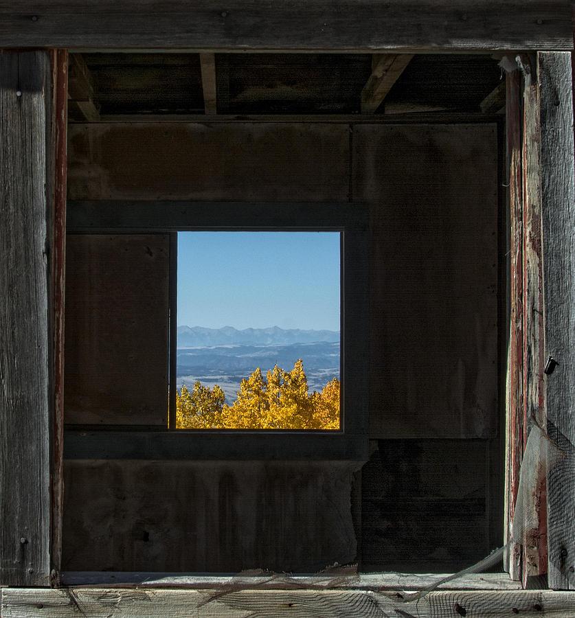 Autumn Photograph - Autumn Windows by Barry C Donovan