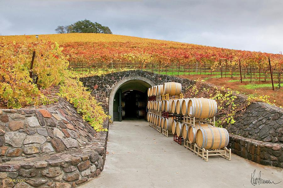 Autumn Wine Cave by Kent Sorensen