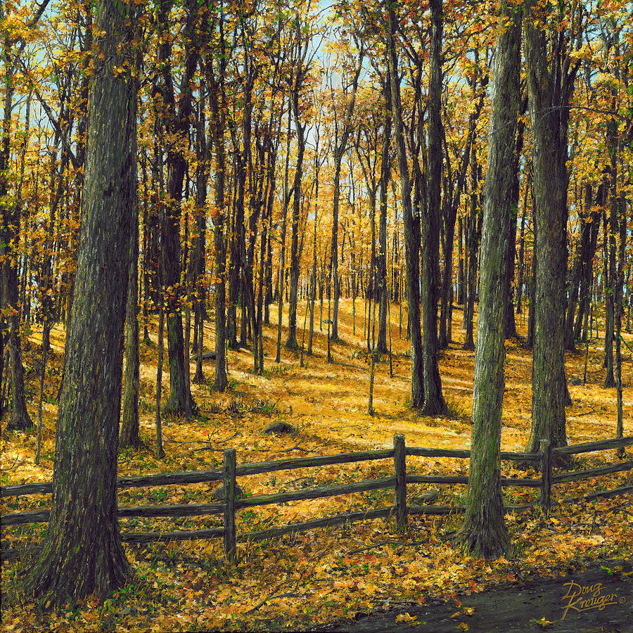 Autumn Woodland by Doug Kreuger