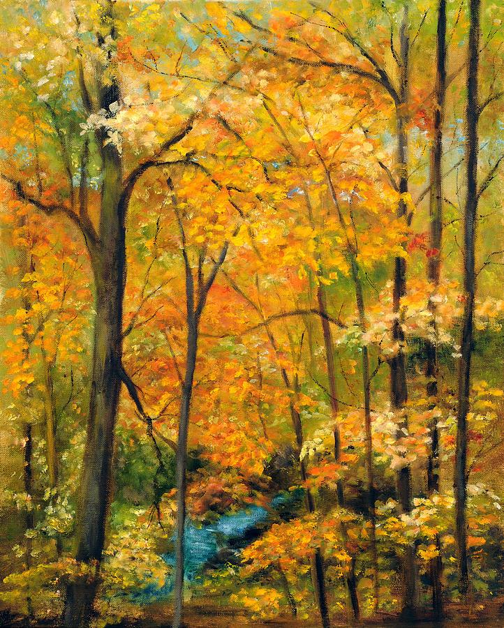 Autumn Woods by Aurelia Nieves-Callwood