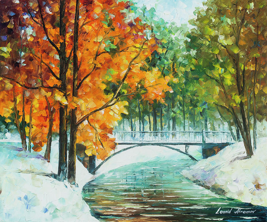 Painting  - Autumns End by Leonid Afremov
