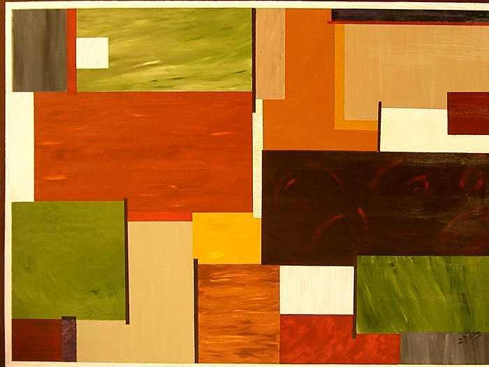 Autumn Painting - Autunno In Armonia  by Rita  DiCello