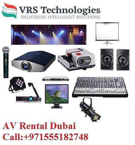 Av Rental Dubai - Audio Visual Equipment Rental In Dubai
