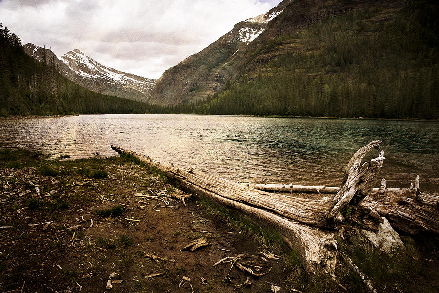 Alpine Photograph - Avalanche Lake  by Mike McMurray