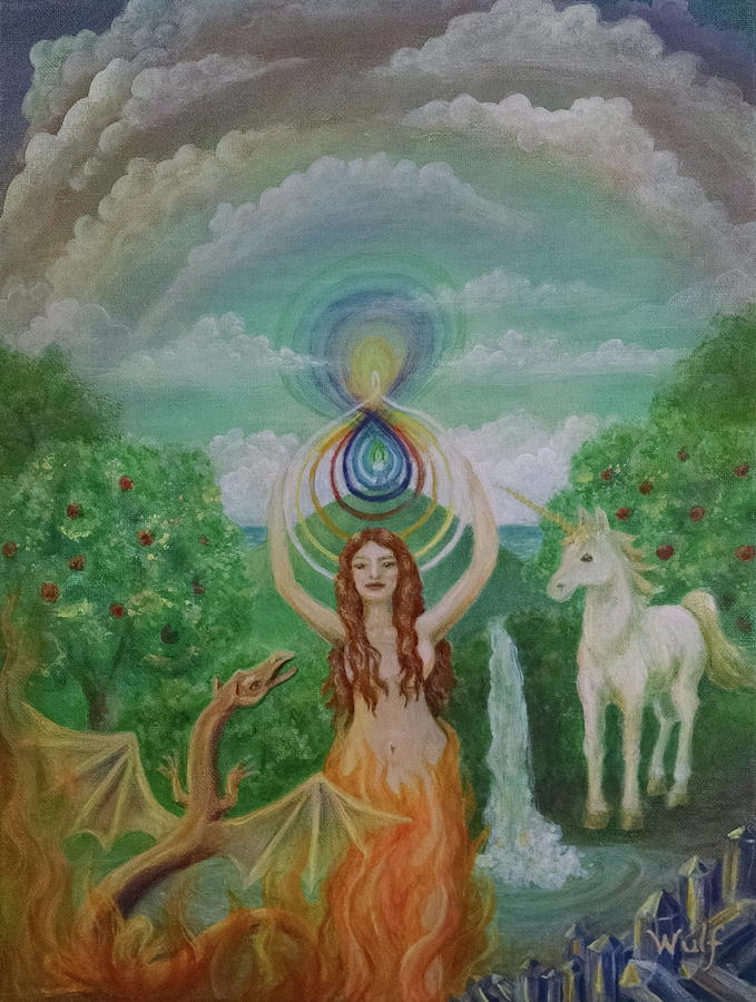 Avalon Portal by Bernadette Wulf