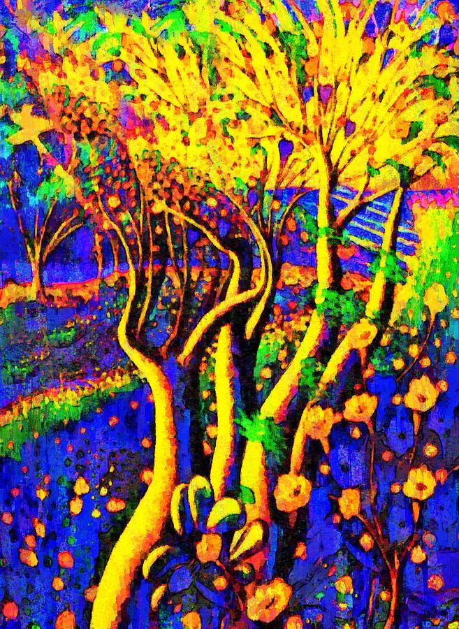 Avatar Painting - Avatar Forest - Pa by Leonardo Digenio