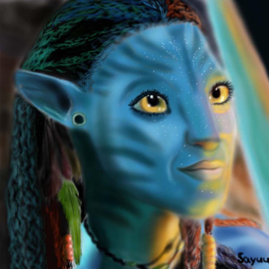 Avatar Art: Avatar. Neytiri Digital Art By Sandra Geis