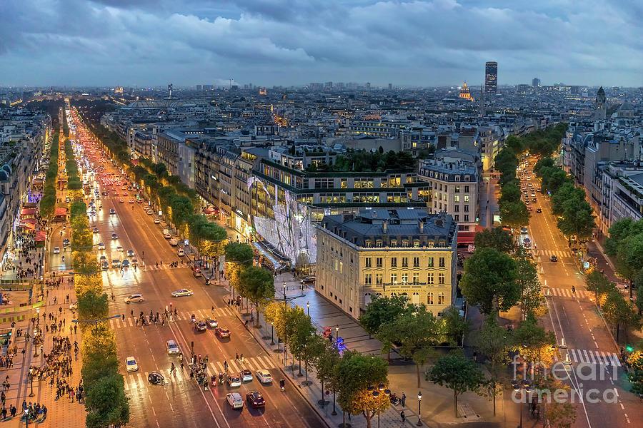 Avenue Des Champs-elysees Photograph by Vyacheslav Isaev 3d44c664ce65d