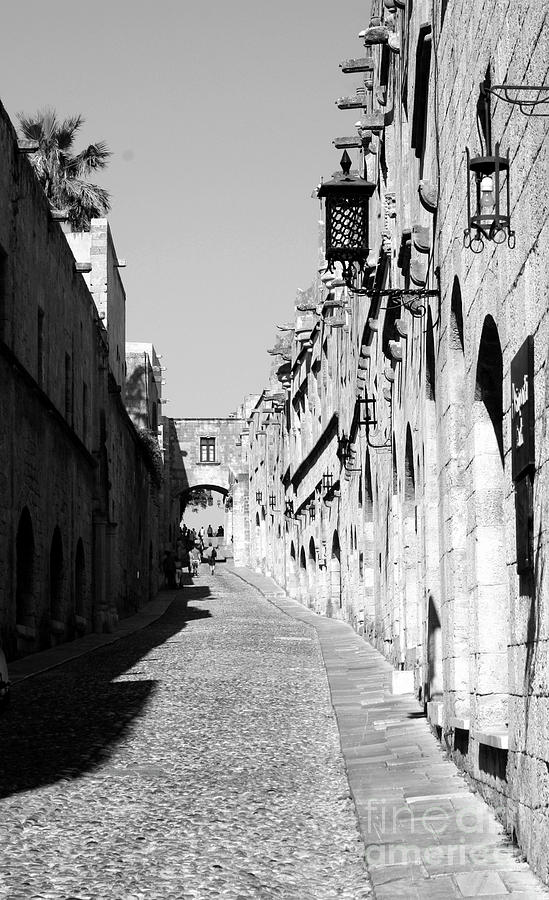Greece Photograph - Avenue Of The Knights by Raquel Daniell