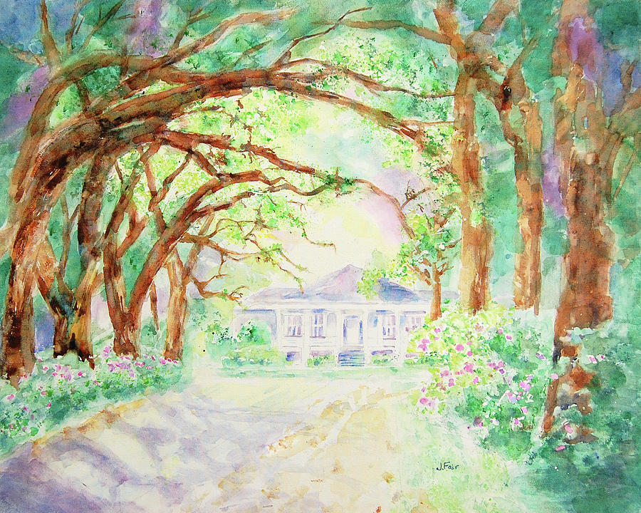 Avenue of the Oaks by Jerry Fair