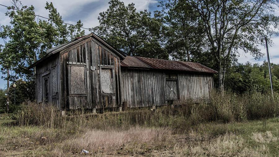 Avinger Photograph - Avinger Depot 2 by Darrell Clakley