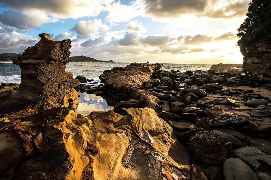 Avoca Rocks Mk1 Photograph by David Benson