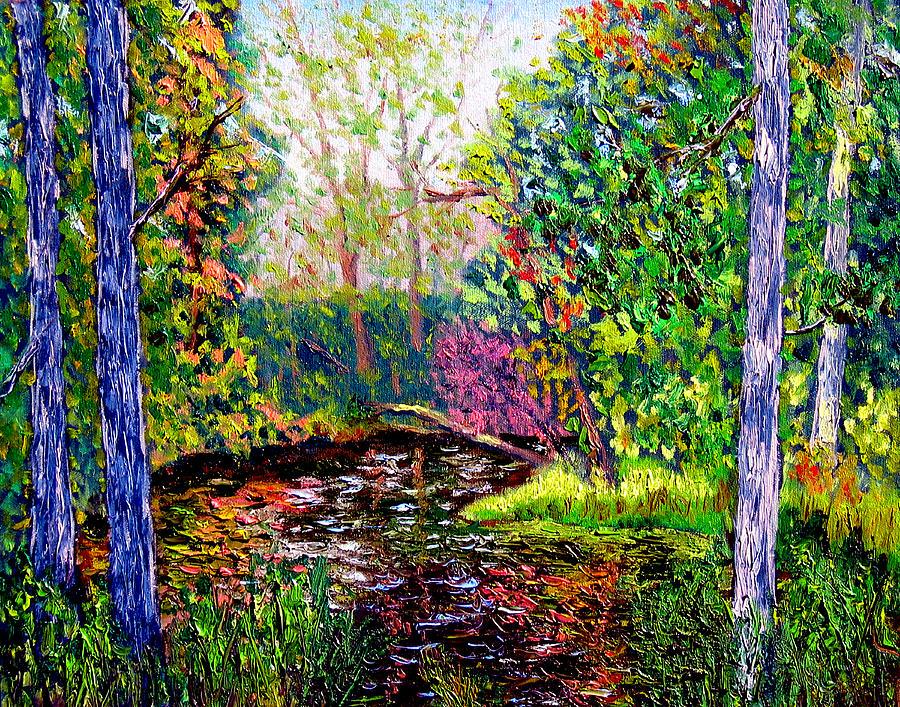 Plein Air Painting - Avon Paint Out by Stan Hamilton