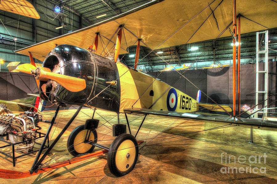 Nose Photograph - Avro 504k by Greg Hager