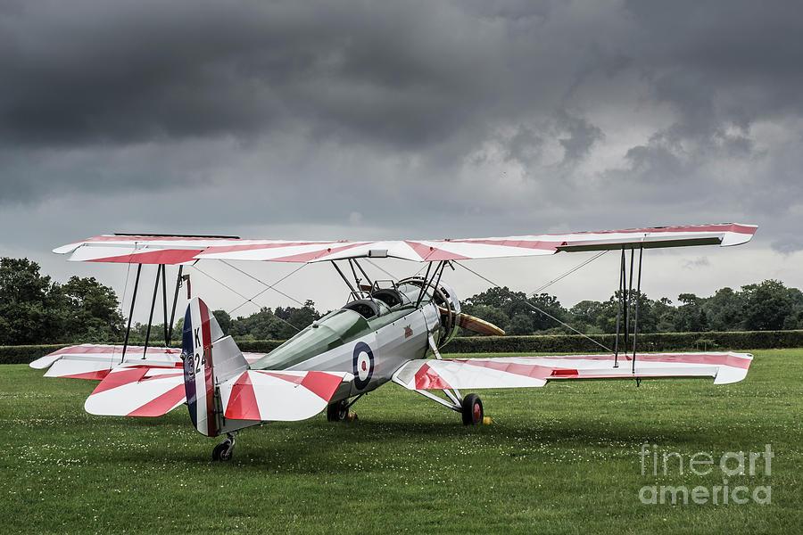 Avro Tutor K3241 Photograph by Simon Pocklington