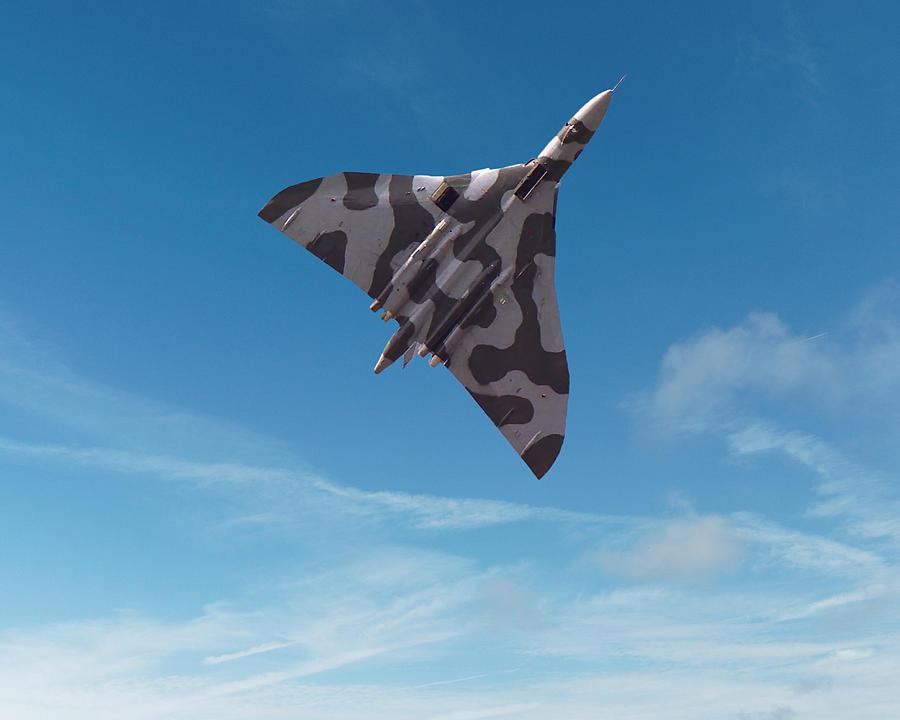 Avro Vulcan -1 by Paul Gulliver