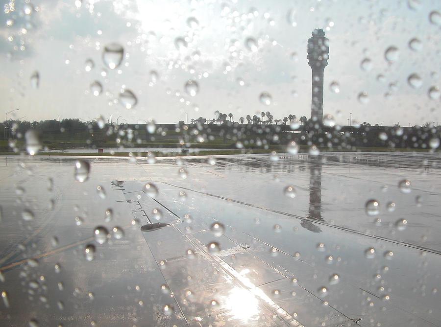 Airport Photograph - Awaiting Clearance - Orlando by Frank Mari