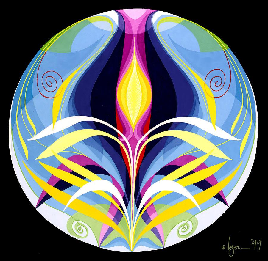 Mandalas Painting - Awakening by Angela Treat Lyon