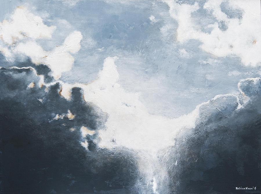 Sky Painting - Awakening by Katrina Nixon