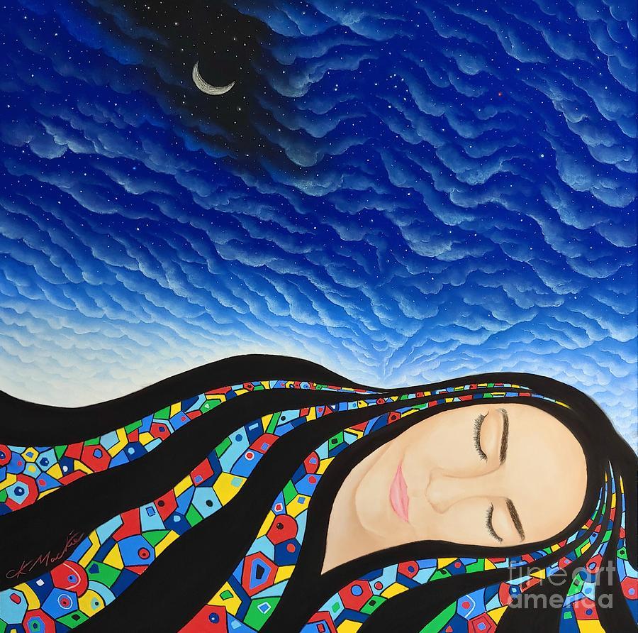 Awakening peace by CK Mackie