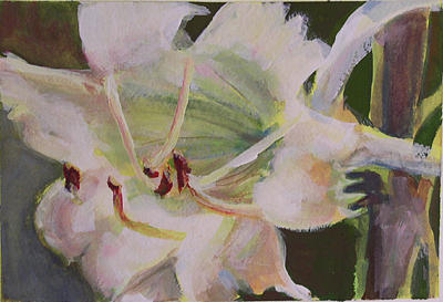 Floral Painting - Awakenings by Marty Smith