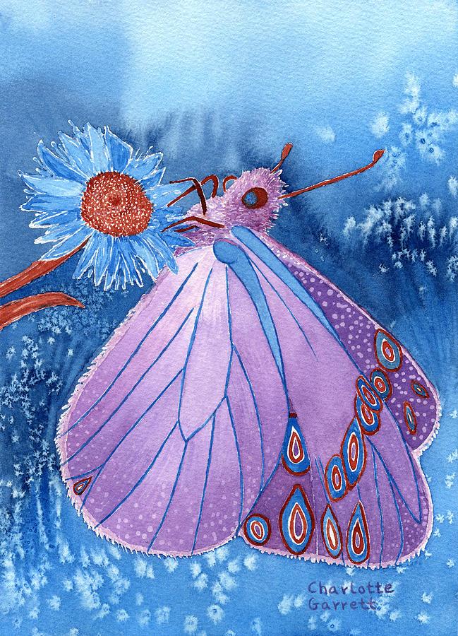 Awareness Butterfly by Charlotte Garrett