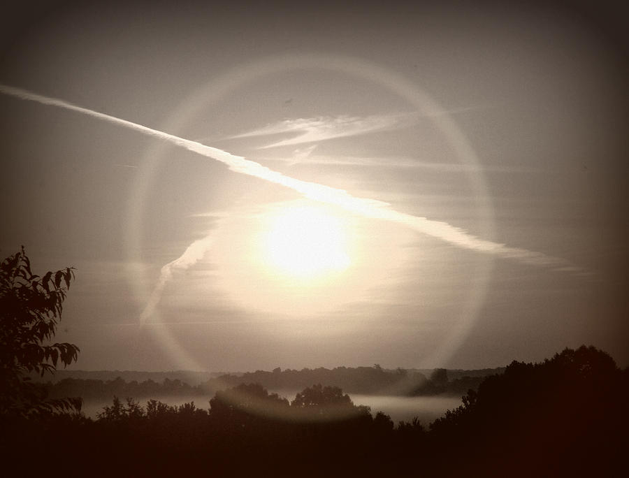 Sun Photograph - Awe Inspired Morning by Cheryl Helms