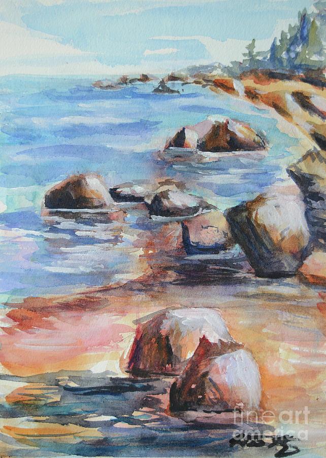 Awenda Provincial Park Painting - Awenda Shore by Heather Kertzer