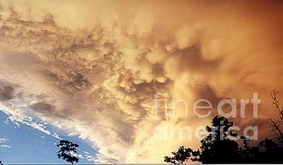Clouds Photograph - Awesome Cloud by Tina Antoniades