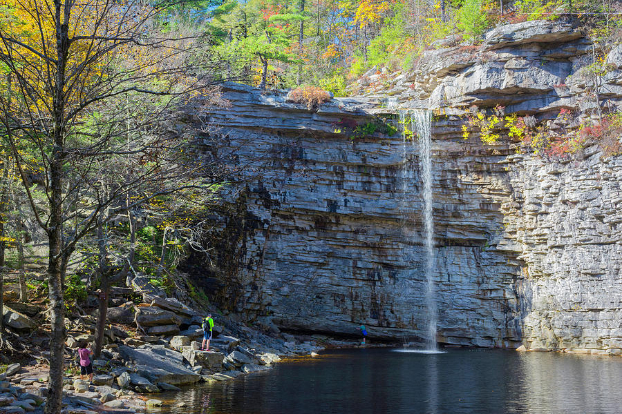 Awosting Falls Oct 2017 by Kenneth Cole