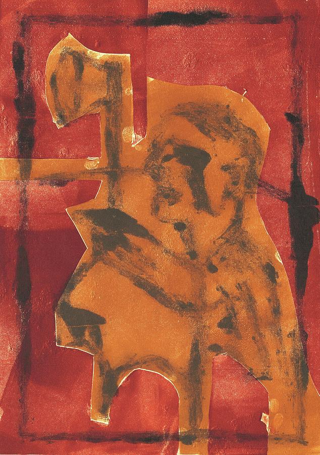 Axeman Relief - Axeman 11 by Artist Dot