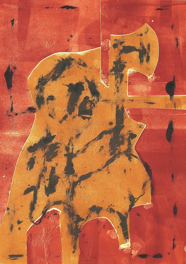 Axeman Relief - Axeman 6 by Artist Dot