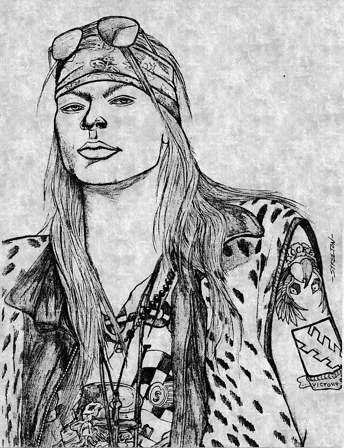 Guns n roses drawing