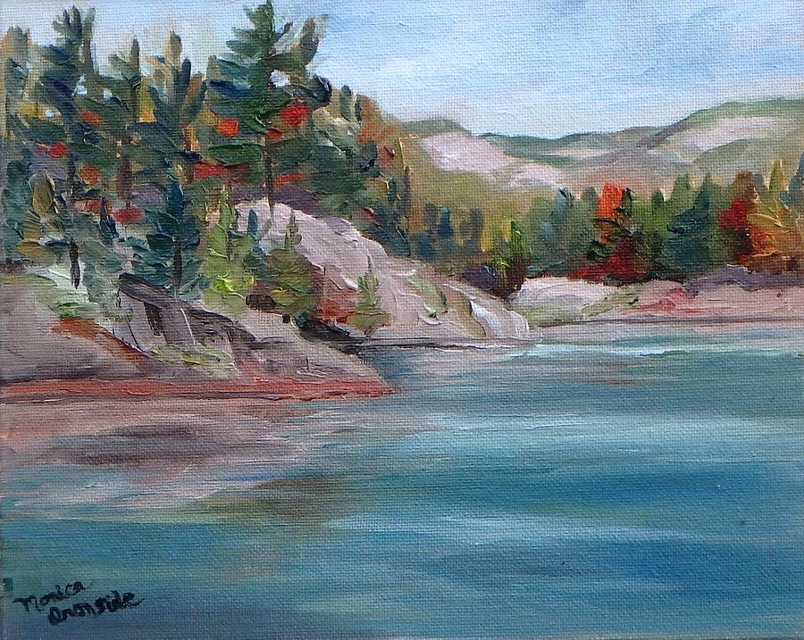 Original Painting - A.y. Jackson Lake, Killarney by Monica Ironside