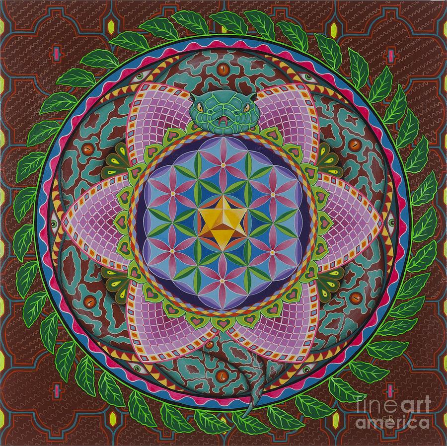 Ayahuasca Painting - Ayahuasca by Galina Bachmanova