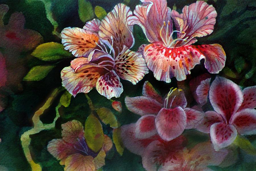 Flower Painting - Azalea by Gertrude Palmer