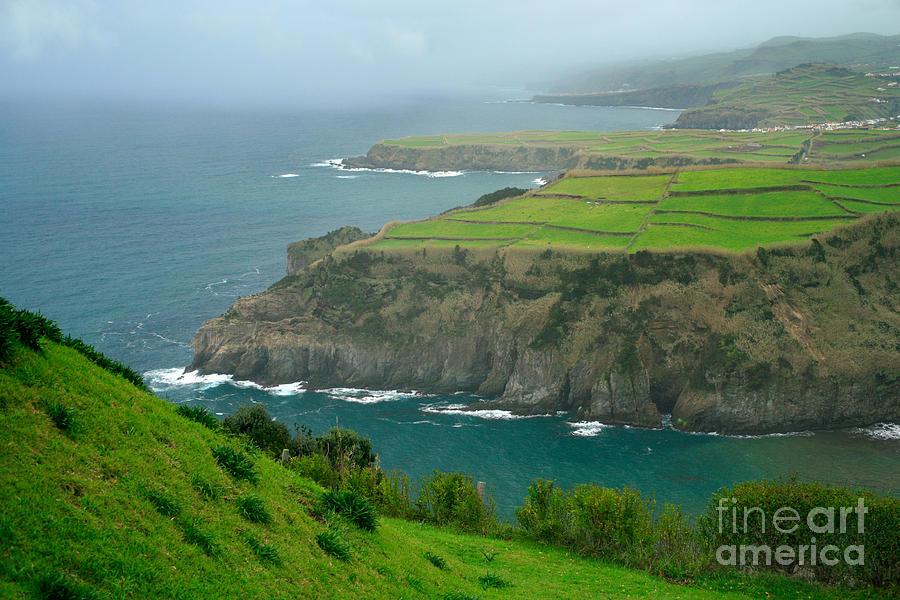 Azores Photograph - Azores Coastal Landscape by Gaspar Avila