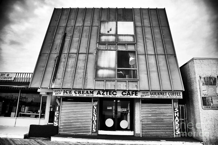 Cafe Photograph - Aztec Cafe by John Rizzuto