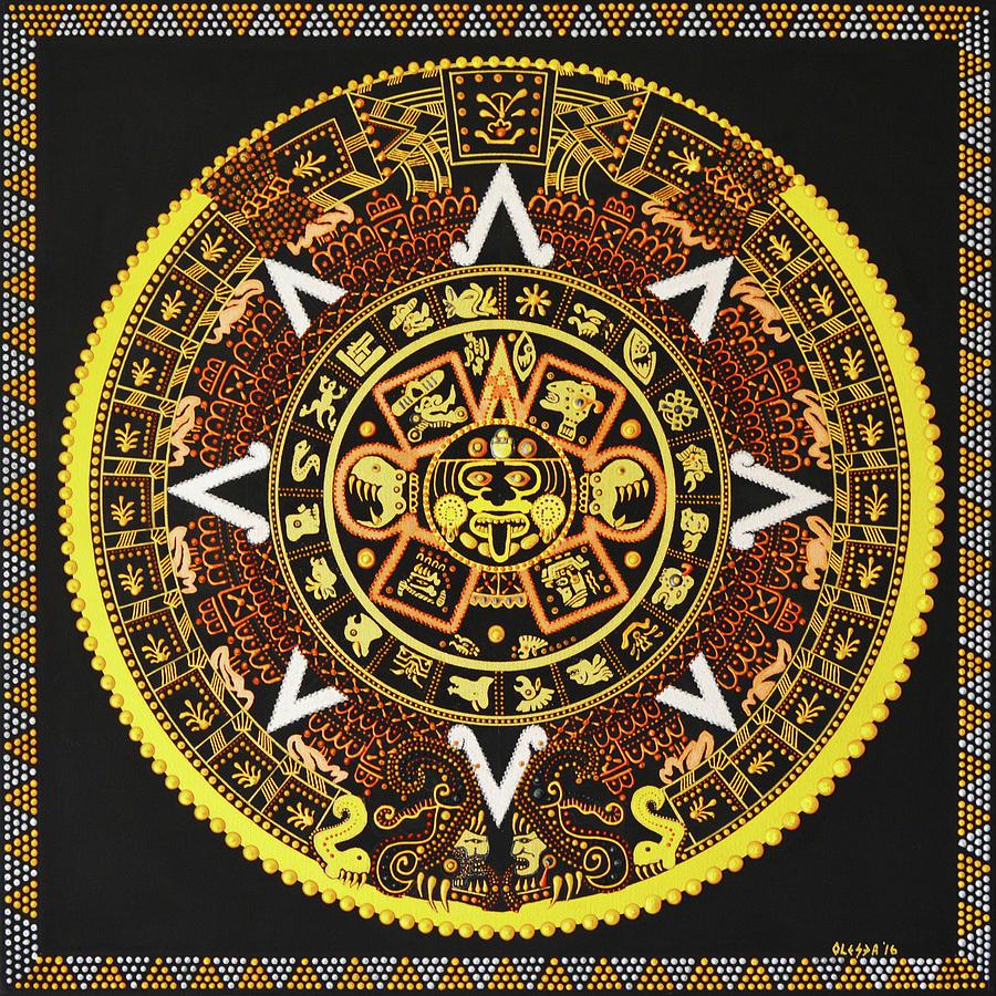 Aztec Calendar Art Lesson : Pictures of aztec calendar impremedia