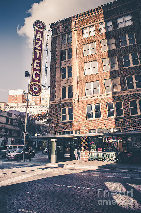Aztec Theatre San Antonio Tx Photograph By Gabriel G Medina