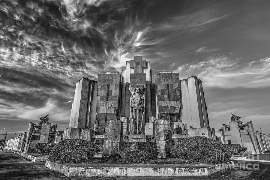 Azul Cemetery Photograph by Bernardo Galmarini