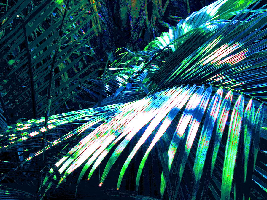 Tropical Painting - Azul Shimmer by Scott K Wimer