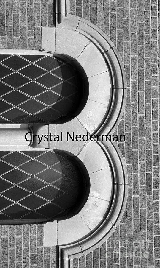 Alphabet Photograph - B-1 by Crystal Nederman
