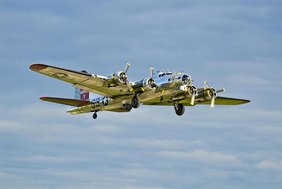 B-17 Aluminum Overcast Photograph by Rick Hartigan