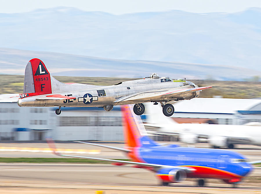 B-17 Bomber Photograph by Dart and Suze Humeston