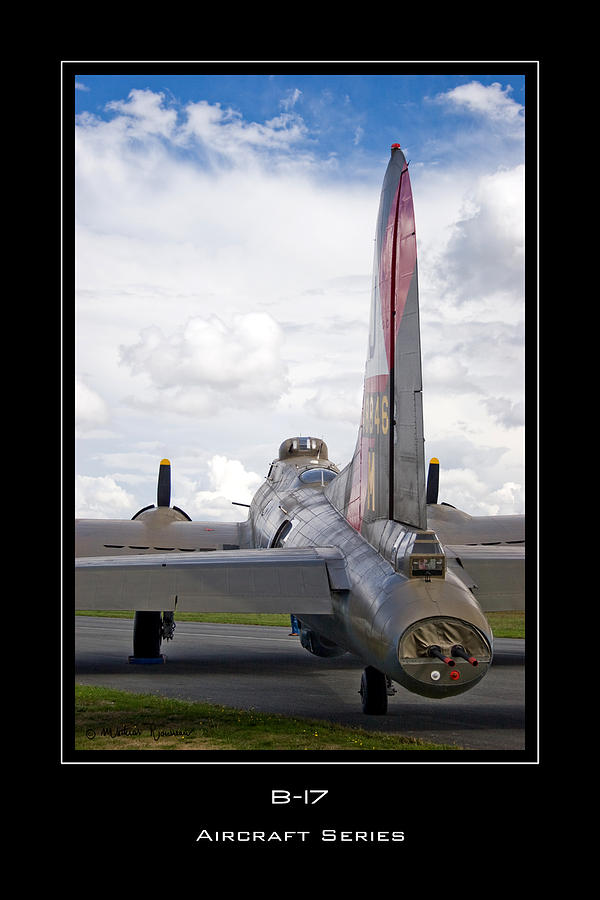 B17 Photograph - B-17 Pink Lady by Mathias Rousseau