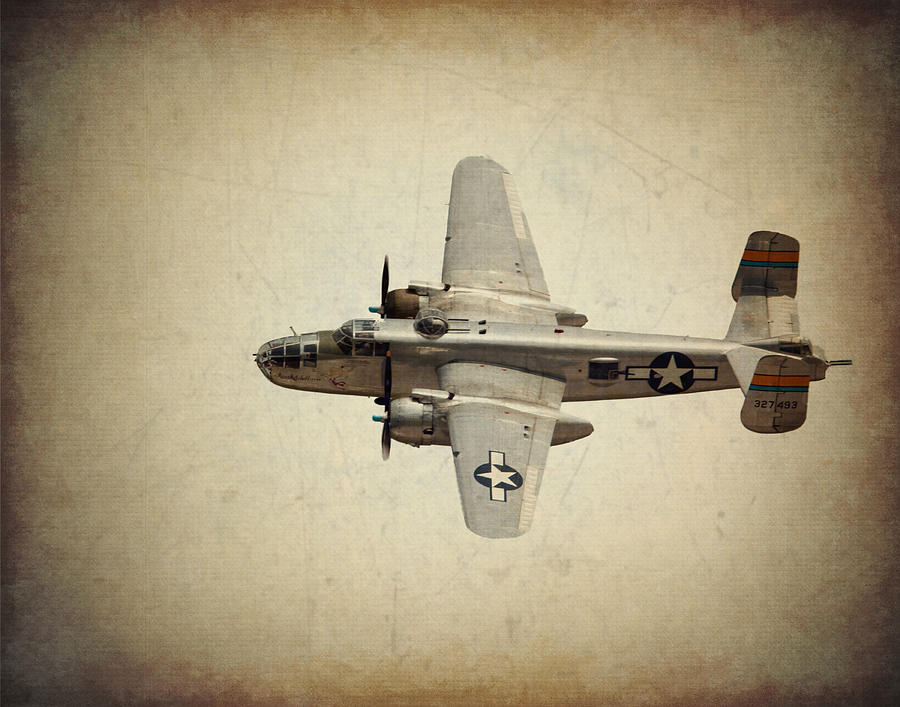 B-25 Photograph - B-25j    Miss Mitchell by Al  Mueller