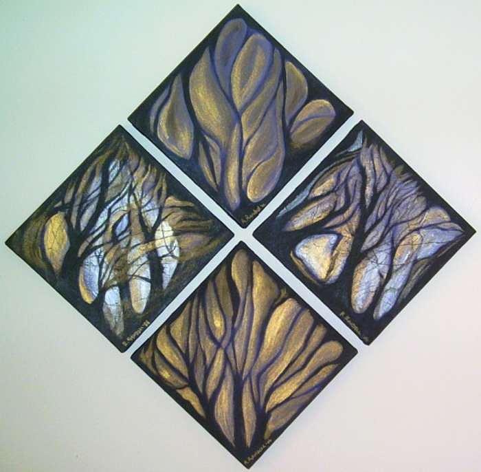 Diamond Painting - b a L by Roy Randell