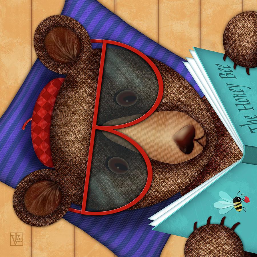 B is for Brown Bear by Valerie Drake Lesiak