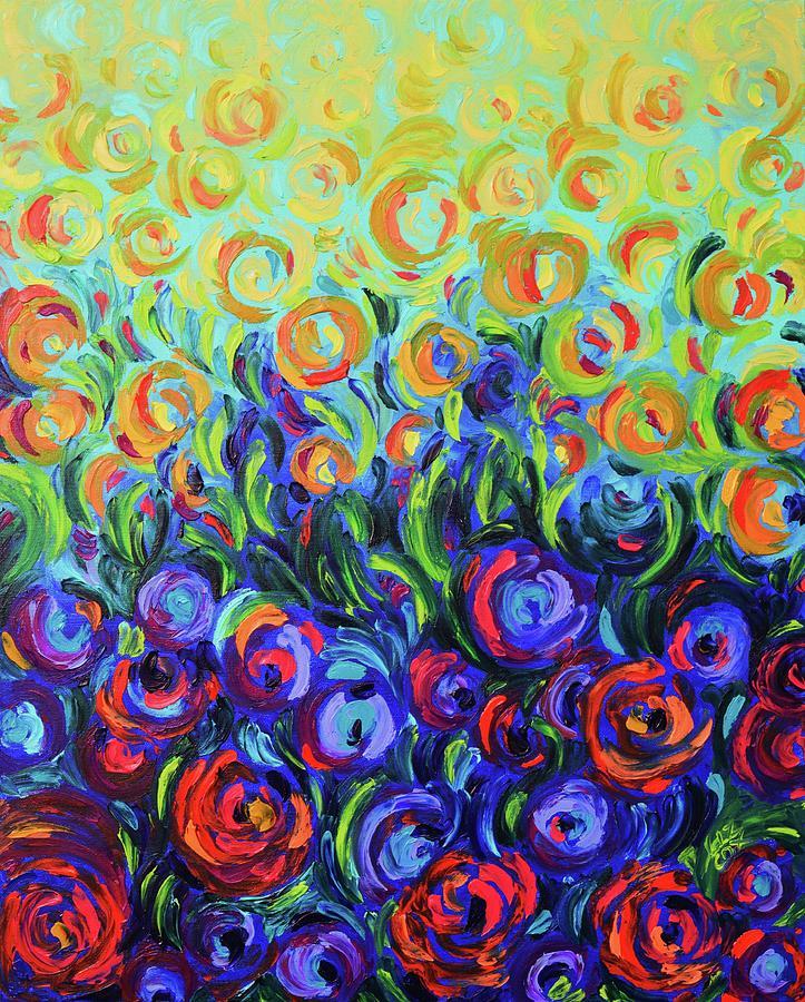 Baba's Garden by Elizabeth Cox